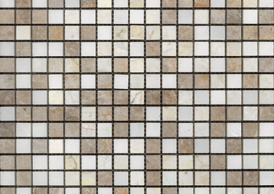 "OLY Boutique Selections Mosaic Blends 11.8""x11.8""Polished"
