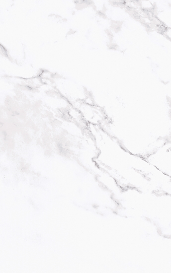 "OLY Carrara white and grey size 10""x16"" gloss"