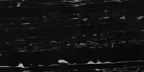 "OLY Composite Marble Black Sizes 24""x24"" 12""x24"" Polished"