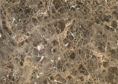 "OLY Composite Marble Dark Emperador Sizes 24""x24"" 12""x24"" Polished"