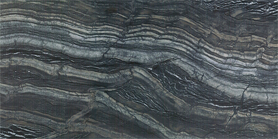 "OLY Marble Black Serpentine Size 12""x 24"" Polished"