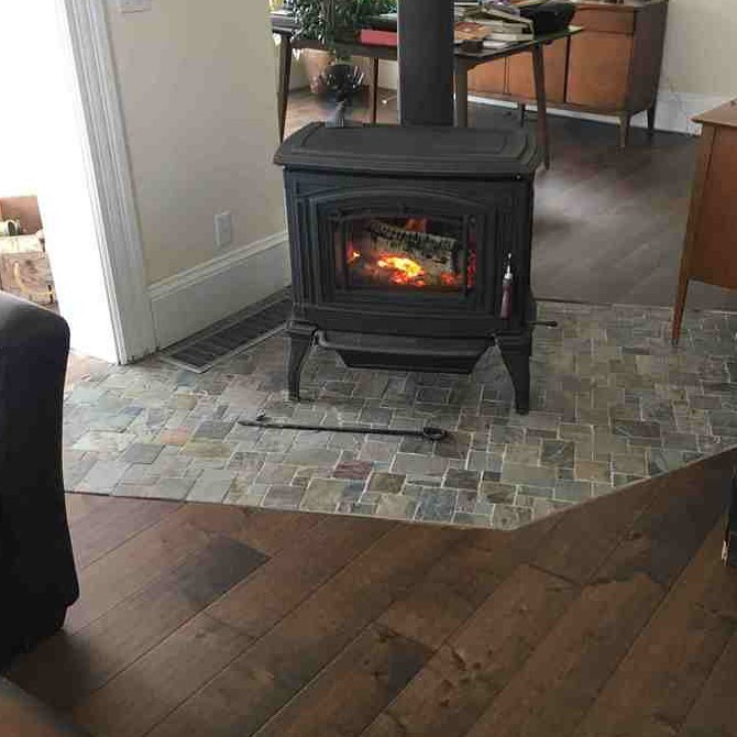 Tile Your Fireplace at Home With This Easy DIY Guide